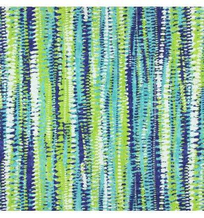 Draperie bumbac dungi albastru verde 1.50m latime Prestigious, Fiji 1382-705