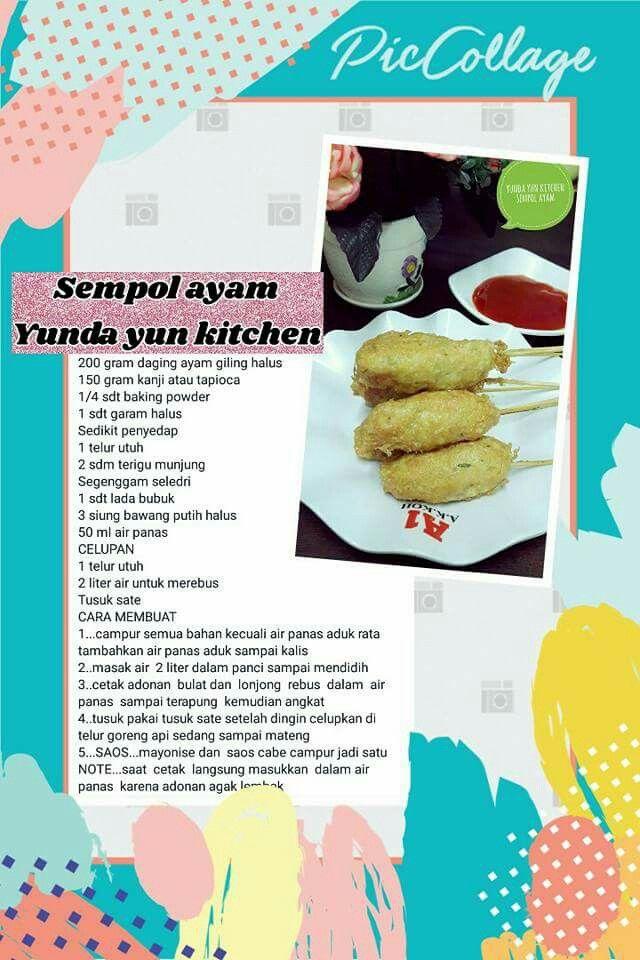 Pin Oleh Dwi Wahyu Di Resep Yunda Yun Resep Simpel Resep Masakan Cemilan