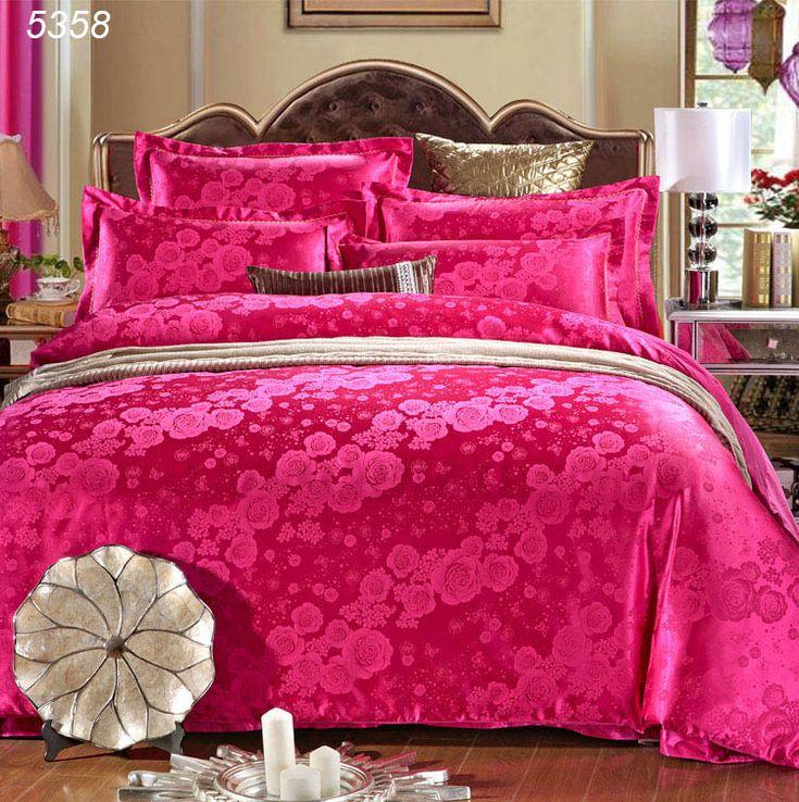 安いローズ レッド寝具セット キングサイズ布団カバー セット 4 ピース ベッド カバー サテン の ベッド カバー綿シート クイーン ベッド セット 5358、購入品質寝具セット、直接中国のサプライヤーから:ローズレッドキングサイズの羽毛布団カバー寝具セットは4個セットベッドのカバーのサテンのベッドカバークイーンベッドが5358コットンシート 元の価格$167.6/$179.8 クイーンサイズの( 4本セット):掛け布団