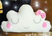 Polardan bulut yastık