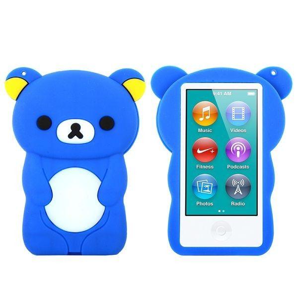 Happy Bear (Blå) iPod Nano 7 Deksler