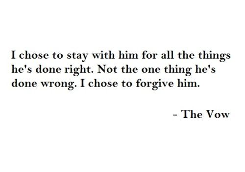 The Vow | Favorite Movie Quotes | Pinterest | The o'jays ...
