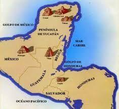 Resultado de imagen para u n geografico maya para dibujar