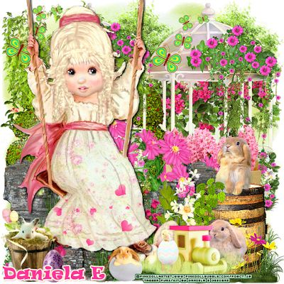 "MI RINCÓN GÓTICO: CT for Daniela E Designs & CT for Pink.Doll.Bubble, "" Polka Rabbit """