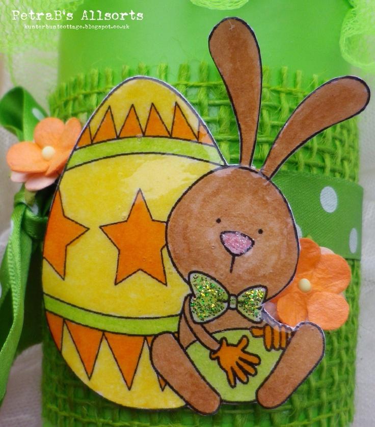 Easter Tin - Bunny.