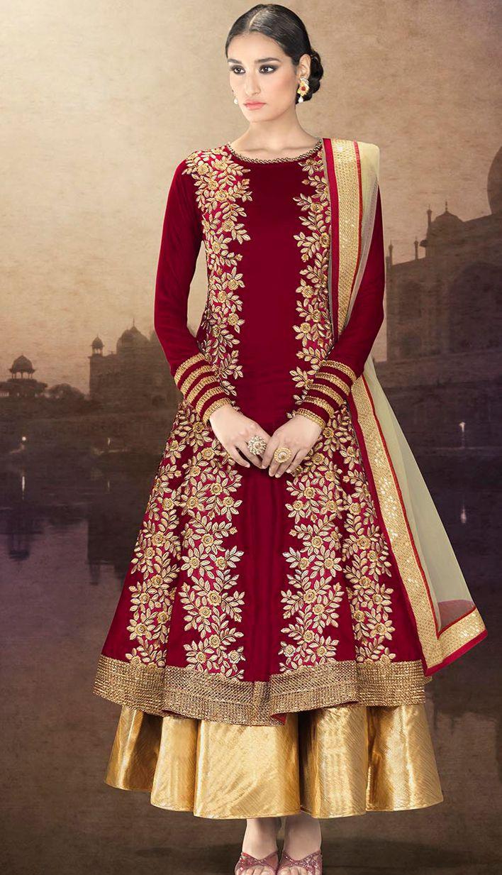 online Salwar Kameez Party Wear Suits - 10260