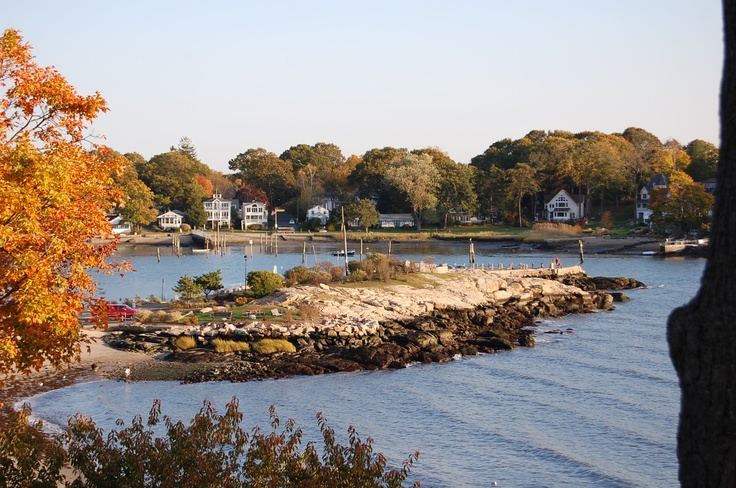 Branford Pt. with Pawson Park across the channel