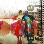 Use Proximity to Impart Meaning on Art Journal Pages
