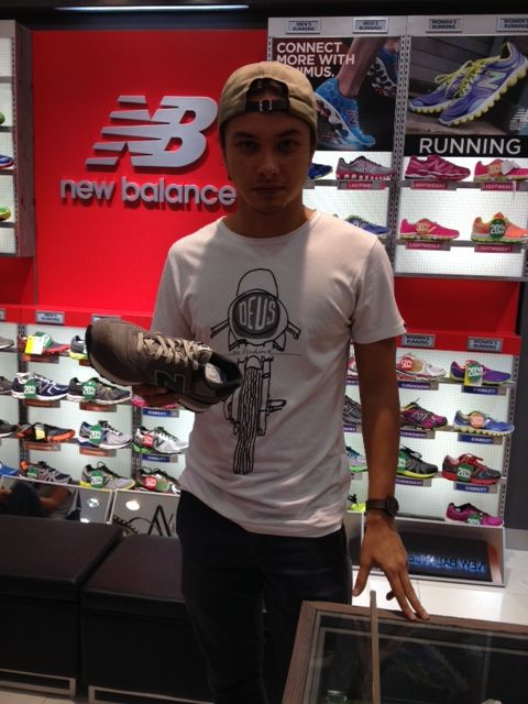 Happy long weekend people, have a great week ahead from Nicholas Saputra and New Balance.