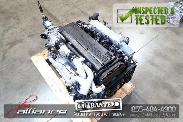 JDM Toyota 1JZ-GTE Twin Turbo 2 5L DOHC Engine R154 5 Speed