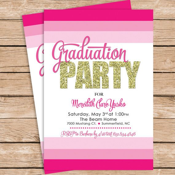 items similar to graduation party invitation or on etsy