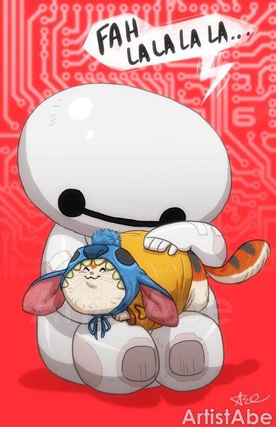 Baymax and Mochi: Stitch Costume