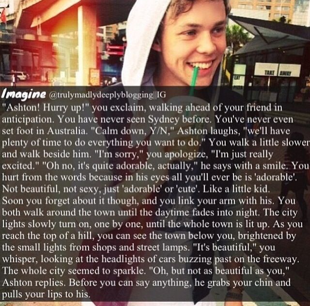 I'm an Ashton girl and I'm not okay right now <---previous pinner. I know the feeling...