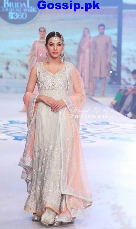 Sana Abbas- Pantene Bridal Couture Week 2014