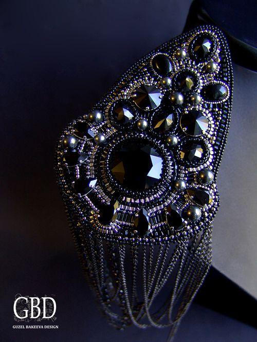 guzel bakeeva | Эполет Черный « Guzel Bakeeva Design