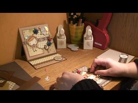EASEL CARD TUTORIAL WITH A STAMP FROM THE GREETING FARM.mpg