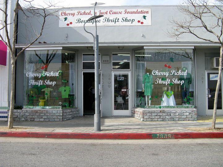 Cherry Picked Thrift Shop In Santa Monica, CA