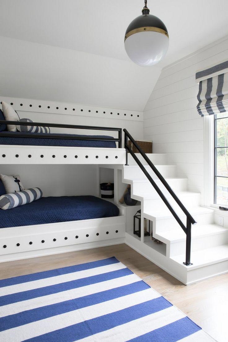 20 Amazing Bunk Beds Design Ideas #bedroom #bedroomdecor #bedroomideas