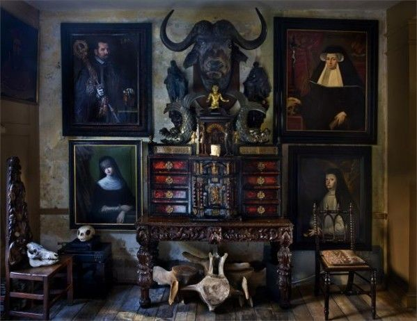 Les 25 meilleures id es concernant manoir anglais sur for Gothic dining room design ideas