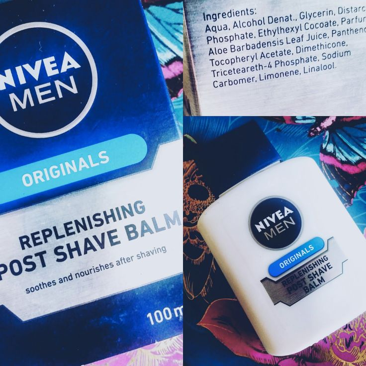 Catherine Roberts: Nivea mens aftershave balm review