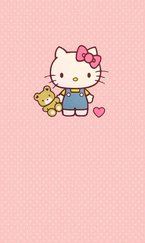 ✿Duitang ~ Hello Kitty Wallpaper.