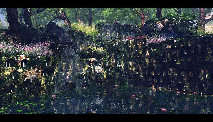 Fantasy Faire 2013 - Fairelands Junction ~ The Vale of Rememberances 6