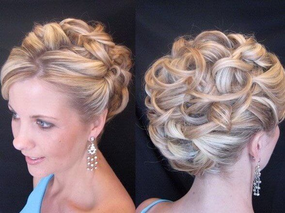 8 Hairstyles For Curly Hair: 1000+ Ideas About Curly Hair Updo On Pinterest
