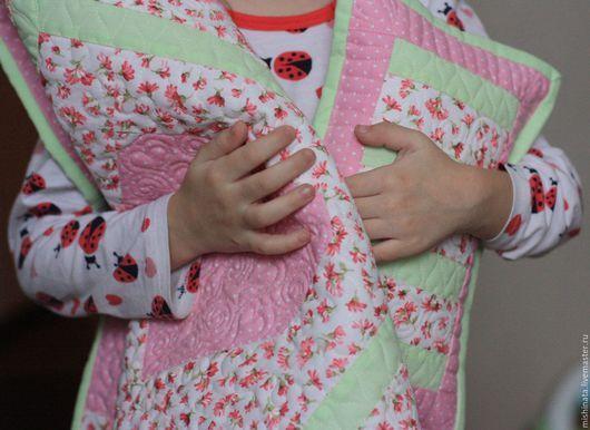 Кукольный дом ручной работы. Кукольное лоскутное одеяло