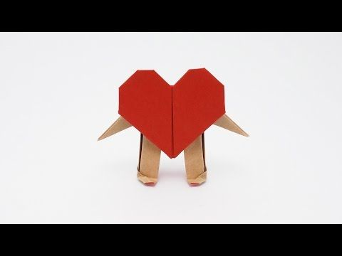 Origami Mr. Heart (Jo Nakashima) - YouTube
