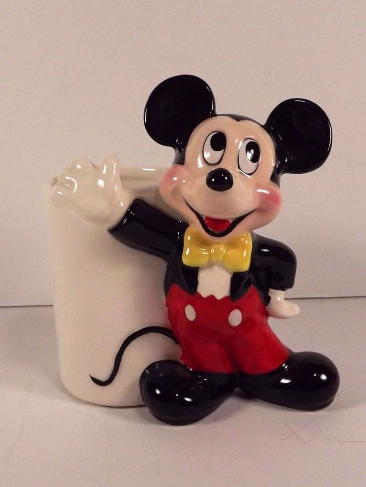 Mickey Mouse Piggy Bank 10 1/2