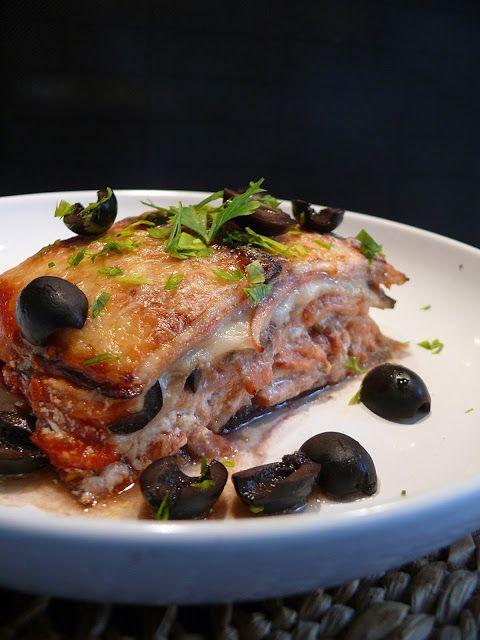 Vöröskaktusz diétázik: Padlizsán lasagne