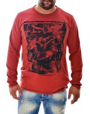 Μακρυμάνικες ανδρικές μπλούζες