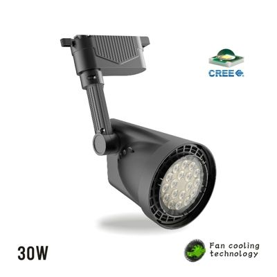 cree led track light 30wled lighting solution expertled lampsled commercial
