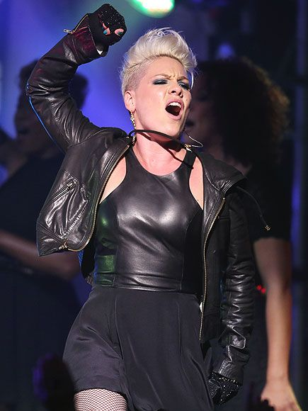 pink the singer gay