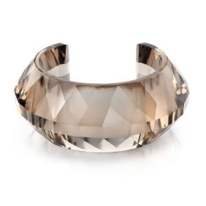 Smokey quartz bangle, wow!