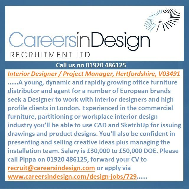 A Dynamic Officefurniture Distributor Seek An Interior Designer Project Manager