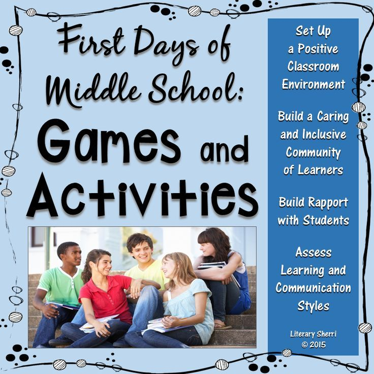 20 print-and-go games and activities designed specifically for Middle School to foster a positive classroom environment and build a caring, inclusive community of learners! Build rapport with students while assessing learning styles, communication, interpersonal, and critical problem-solving skills and for effective grouping, enriching curriculum for gifted students, and scaffolding curriculum for struggling learners.