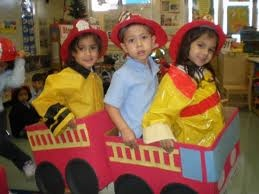 Community Helpers:Fire Station in the Dramatic Play Center