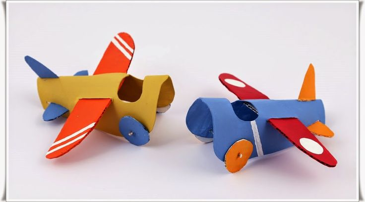 Tuvalet Rulosundan Maket Uçak Yapımı