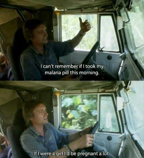"When Richard Hammond made an important realization. | 27 Times ""Top Gear"" Was Too Damn Funny"