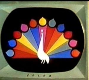 The NBC Peacock: This was GREAT, when we finally had a color TV!