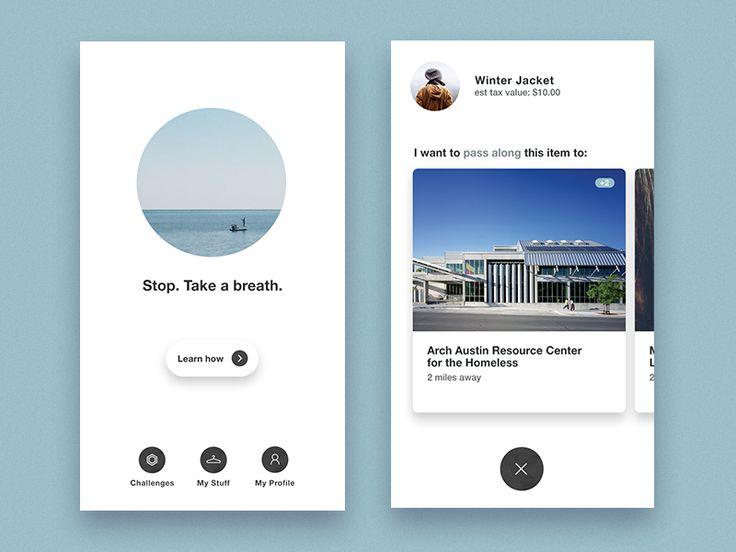 Minimalist Design Exercise