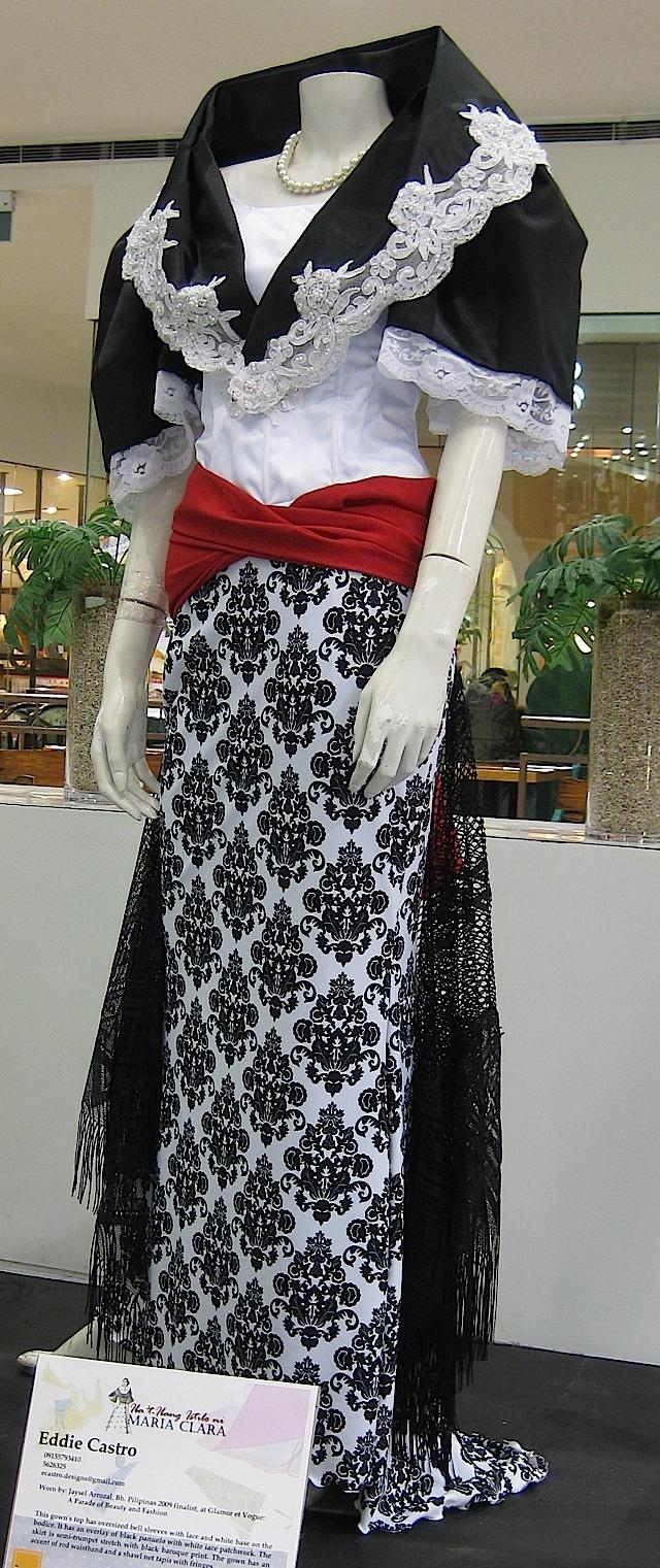 Modern maria clara filipina and proud pinterest