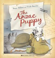 'In the middle of the night, in the middle of the winter, in the middle of a war, a puppy was born.' This fictional story was inspired by the story of Freda, a Harlequin Great Dane and mascot of the NZ Rifle Brigade during World War 1. The ANZAC Puppy is a simple story about the reality of war, hardship, friendship and love.
