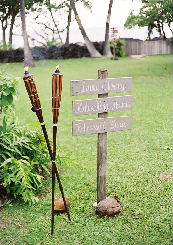 Calligraphy wooden signs from Laura Hooper Calligraphy