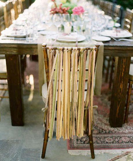 Outdoor Wedding in rustic colors