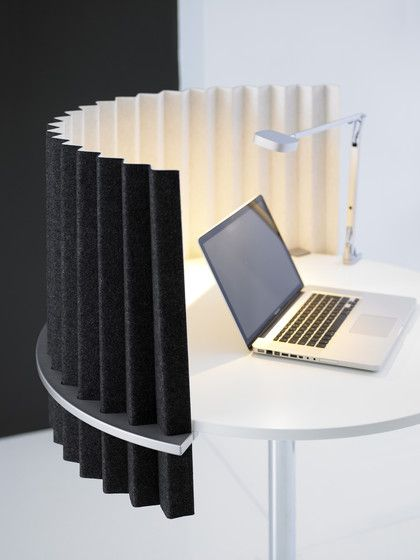 Sound absorption | Room acoustics | Ziggy Desk-up Screen. Check it out on Architonic