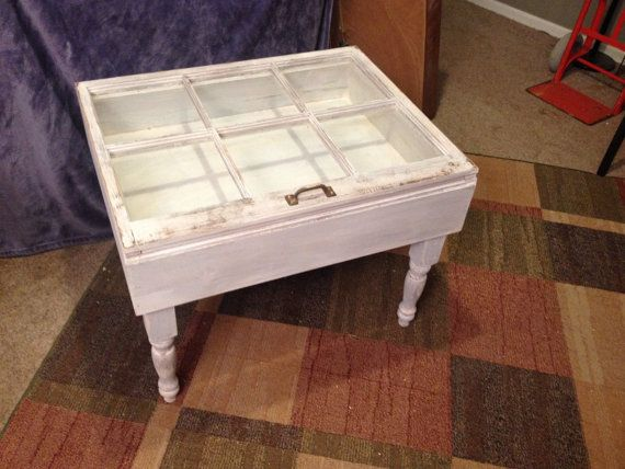Hey, I found this really awesome Etsy listing at https://www.etsy.com/listing/230317529/wood-six-6-pane-shadow-box-end-table