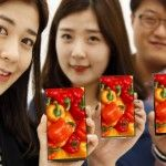 LG shows off smartphone display with world's narrowest bezel