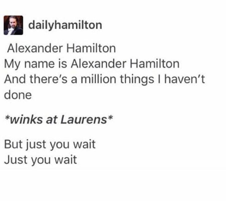Alexander Hamilton and Laurens